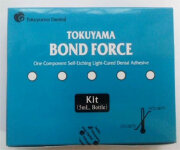 Bond Force II (Бонд Форс 2)- самопротравливающий светоотверждаемый однокомпонентный адгезив. Tokuyama (Япония)
