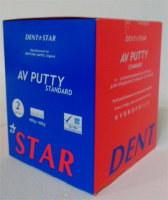 DentStar AV-Putty (ДентСтар АВ Патти) - слепочная винил-полисилоксановая масса,базовый слой 2х400 г (DentStar Англия)